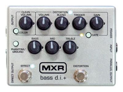 MXR CUSTOM LIMITED BASS DI+ M-80
