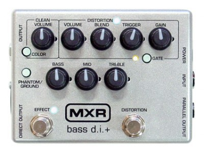 MXR CUSTOM LIMITED BASS DI+ M-80