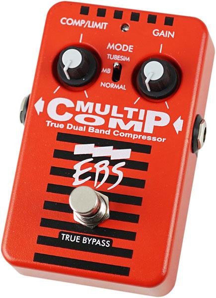 イケベ楽器の限定モデルで今度はEBSのマルチコンプが赤になった