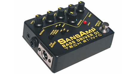 TECH21 / Sansamp Bass Driver DI 〜持っておくべき魔法の小箱。サンズアンプ・ベースドライバー