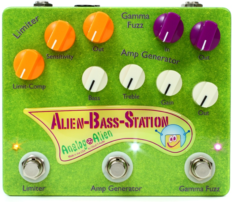 Analog Alien / Alien-Bass-Station