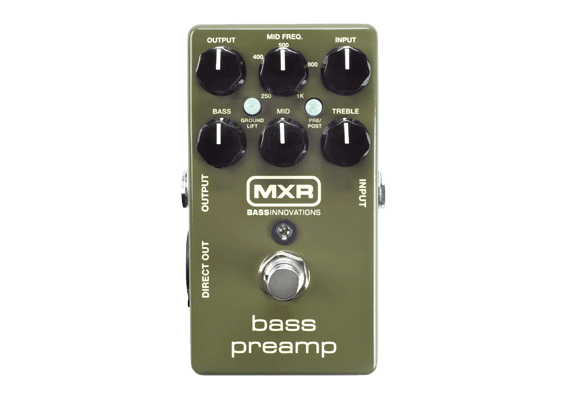MXR BassPreamp