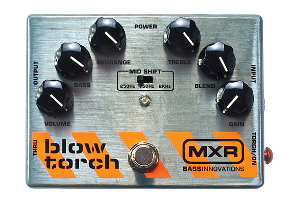 MXR BlowTorchregDistortion