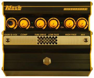 【生産完了】MarkBass / Distorsore MAK-DIS 〜コンプ付きで細かくセッティング出来る真空管入りディストーション