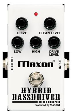 MAXON / BD10 HYBRID BASSDRIVER