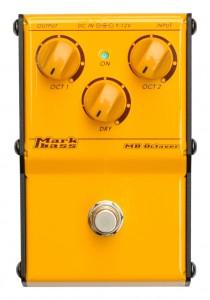 【生産完了】Markbass / MB Octaver MAK-MBO ~2オクターブ下も同時発音可能なオクターバー