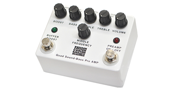 FREEDOM CUSTOM GUITAR RESEARCH / Quad Sound-Bass Preamp SP-BP-01 〜フリーダムのハイエンドプリアンプ