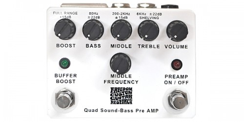 FREEDOM CUSTOM GUITAR RESEARCH / Quad Sound-Bass Preamp SP-BP-01