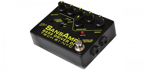 TECH21 / Sansamp Bass Driver DI