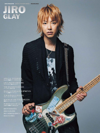 JIRO / GLAY 【BASS MAGAZINE SPECIAL FEATURE SERIES】