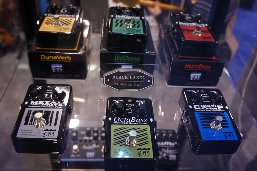 Black Label Studio Edition Pedals