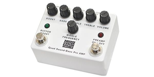 FREEDOM CUSTOM GUITAR RESEARCH / Quad Sound-Bass Preamp SP-BP-01 〜フリーダムのハイエンドプリアンプ